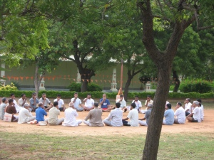during a camp at Kanyakumari