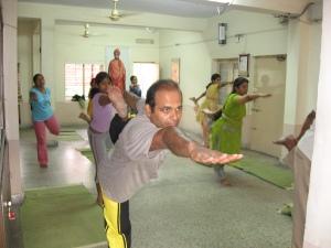 Yogasana Class at Kendra