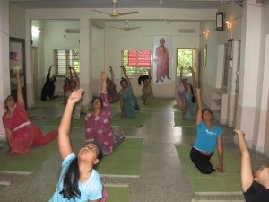 Yogasana Class at VK Hyderabad
